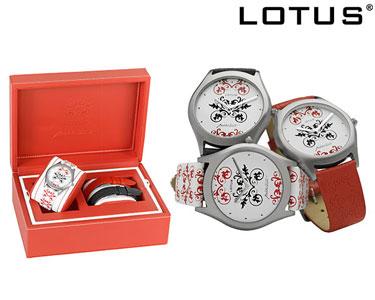 Relógio Lotus® by Estilista José António Tenente | 3 Braceletes