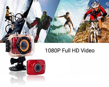 Câmara Sports Digital 5.0 Full HD 1080p | À Prova de Água