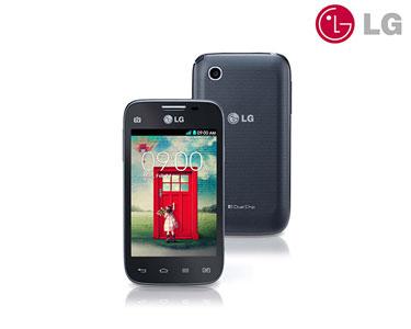 Smartphone LG® L40 D170 | Preto ou Branco | Android Dual Sim