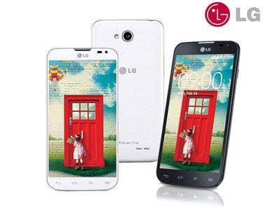 Smartphone LG® L70 D325 | Preto ou Branco | 4GB Dual Sim