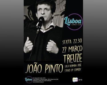 «Treuze» de João Pinto   27 de Março - Lisboa Comedy Club