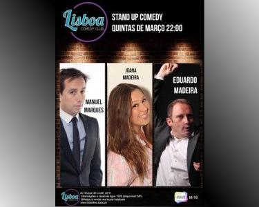 Stand-up Comedy - Manuel Marques e Eduardo Madeira | Comedy Club