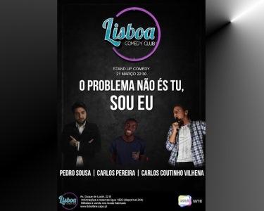 «O Problema Não És Tu, Sou Eu» | 21 de Março - Lisboa Comedy Club