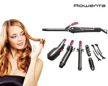 Modelador Cerâmico Rowenta® | Penteados Perfeitos!