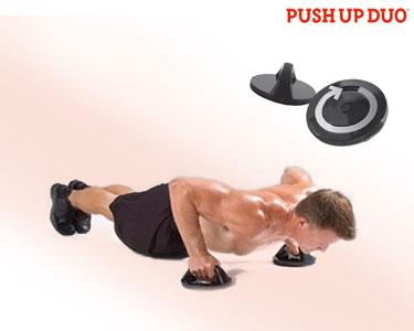 Aparelho «Push-Up Duo» | Flexões com Apoio - Músculos Fortes!