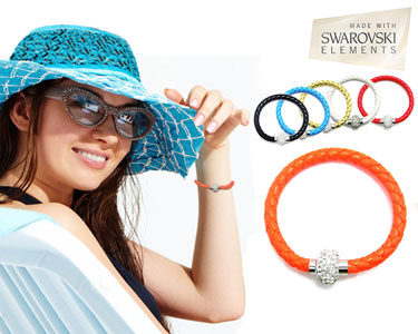 Pulseira Summer com Cristais Swaroski Elements® | 6 Cores