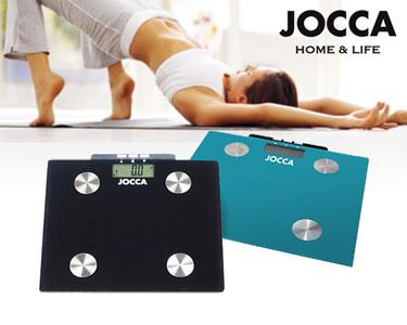 Balança Digital Jocca® | Medições de Peso, Água e Massa Corporal