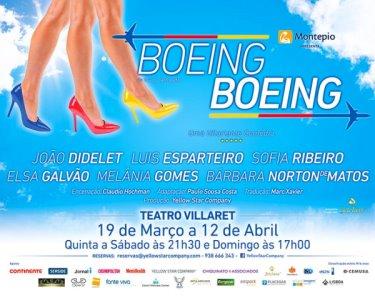 «Boeing Boeing» no Teatro Villaret | 12 de Abril | Última Data!