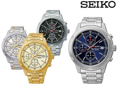 Relógio Seiko® para Ele | Modelo à Escolha