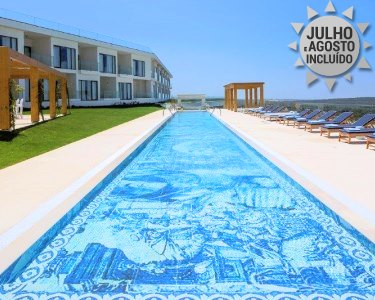 Férias de Praia no Hotel Evolutee 5* Vista Mar e Lagoa de Óbidos   1 a 5 Noites