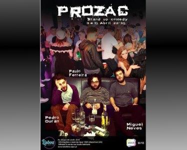 «Prozac» Stand-up Comedy | Bilhetes Duplos | Lisbon Comedy Club