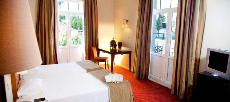 Desfrute do Hotel das Termas - Curia | Noite com Jantar & Visitas Enoturismo