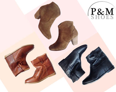 Botins Primavera by look Isabel Marant | P&M Shoes