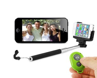 SUPER PREÇO! Braço Extensível para Selfies com Comando à Distância