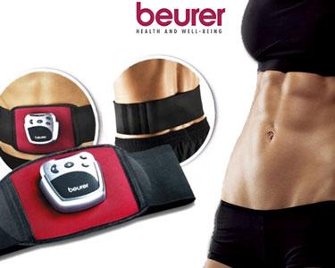 Cinto Estimulador Muscular Beurer® | Abdominais Perfeitos!
