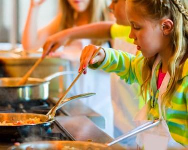 Workshop de Cozinha Divertida para Crianças c/ Lanche | 04 de Abril