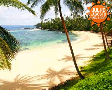 Passeie no Paraíso! São Tomé & Ilhéu das Rolas | Voos + 7 Noites