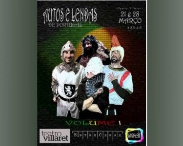 «Autos e Lendas de Portugal» no Teatro Villaret | 28 de Março