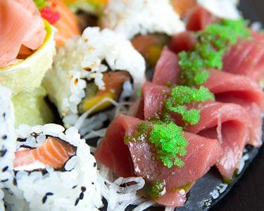 Sushi para Dois c/ Entrada & Sobremesa   Kyuubi Sushi Lounge