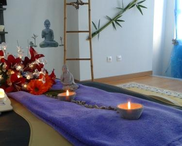 Duo de Tratamentos de Bem-Estar   Massagem de Relaxamento & Reiki