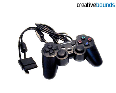 Comando Gaming   Compatível com PS3, PS2 e PC com Dualshock