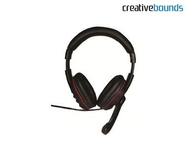 Headphones Gaming com Microfone & Controlo Volume