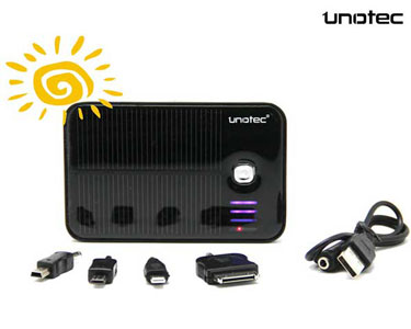 Bateria Solar Unotec® c/ 4 Conectores microUSB