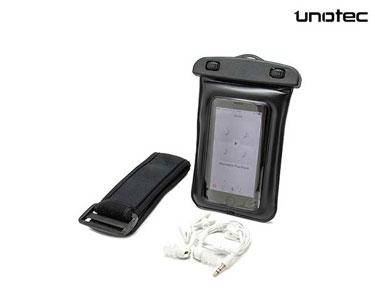 Capa Impermeável para Smartphone com Auricular
