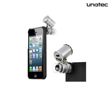 Microscópio para iPhone 5 | Veja, Filme e Fotografe com Detalhe!
