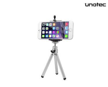 Mini tripé com Suporte Universal para Smartphone