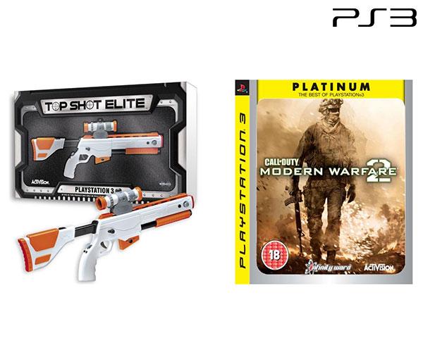 Jogo Call of Duty - Modern Warfare 2 + Top Shot Elite Gun | PS3
