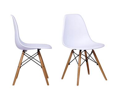 Cadeira Tower | Branco Intemporal