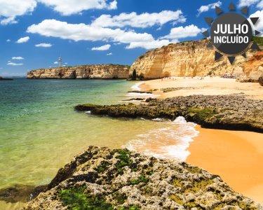 Especial Algarve! 3, 5 ou 7 Noites em T1 na Praia da Rocha