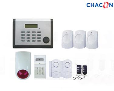 Kit Alarme com Transmissor Telefónico com 8 Sensores