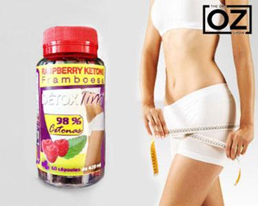 Raspberry Ketone Framboesa - 60 Cápsulas | Dieta Dr. OZ