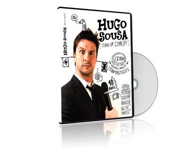 DVD Hugo Sousa Stand-Up Comedy + Extras