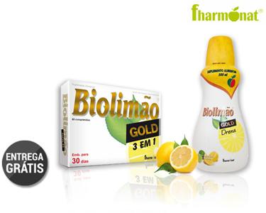 Biolimão Gold Xarope ou Comprimidos | Portes Grátis