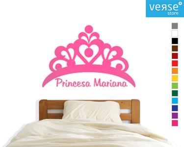 Tiara com Nome à Escolha | Mime a Sua Princesa!