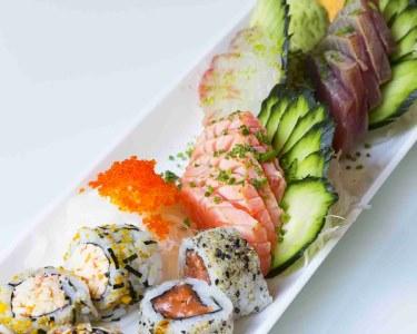 Estado Líquido Fusion Sushi   Jantar Romântico para Dois - Santos