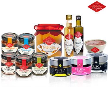 Cabaz Prisca Completo | 12 Produtos Gourmet
