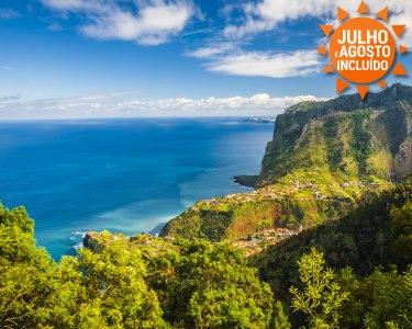 Conheça a Pérola do Atlântico - Ilha da Madeira | 2 Nts em Hotel 3* ou 4* com opção de Voos