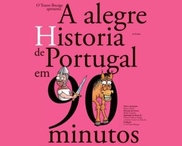«Alegre História de Portugal em 90 Min» - 2 Pessoas   Teatro Bocage