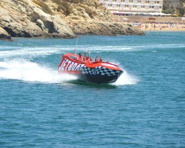 Jet Boat: Adrenalina pelas Águas Algarvias | 30 Minutos | Albufeira