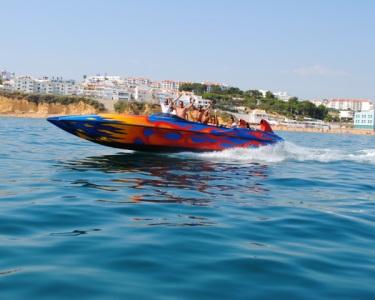 Passeio Ocean Rocket c/ Oferta de Foto   Conheça a Costa Algarvia
