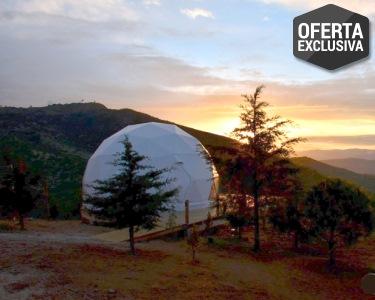 Domo de Luxo com Vista Montanha | Natura Glamping