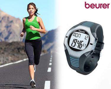 Relógio Medidor de Ritmo Cardíaco | Beurer® Sports