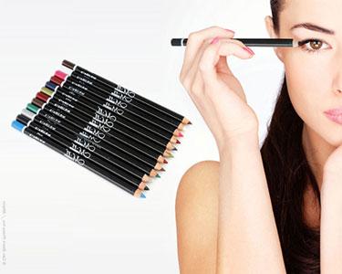 12 Lápis de Olhos & Lábios à Prova de Água | Longa Duração
