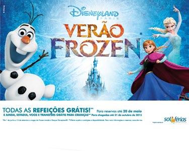 Verão Frozen na Disneyland Paris® | Voos + Hotel -10% + Entradas + Refeições Grátis