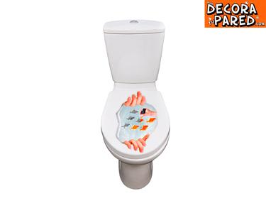 Vinil Amazing 3D para WC | Anime a sua Casa de Banho