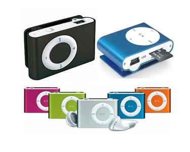 Mini Leitor MP3 com Clip   Escolha a Cor